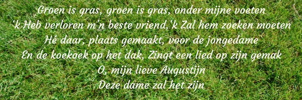 Groen is gras