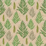 Naturals Paper+Design servetten van gerecycled papier met groene varens