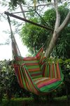 Green picnic, Fair Trade, hangstoel groen