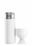 Dopper insulated Wavy White thermosfles 580ml