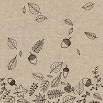 Naturals Autumn Fall servetten van eco papier, ongebleekte napkins van PaperDesign