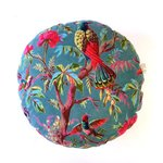 GreenPicnic - Imbarro Pouf Paradise Rib Green