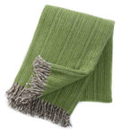 Klippan Björk ecowol deken groen