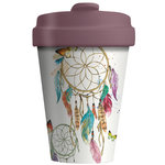 BambooCup Coffee to go beker van bamboe Dreamcatcher