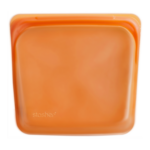 Stasher Bag Citrus oranje kookzak of bewaarzak