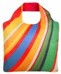 Ecozz opvouwbare tas van gerecyclede Pet flessen print Rainbow 02