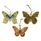 Imbarro metalen vlinder hangers Fairtrade