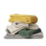 Biologisch katoenen dekens van klippan Basket