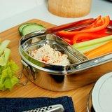 Slice of Green lunchbox kangra RVS met mini container