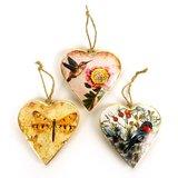 Imbarro metalen hart-vormige hangers