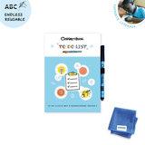 Het Correctbook duurzame en herbruikbare to do lijsten