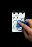 Kladblok Correctbook inclusief wisdoek en pen bij GreenPicnic