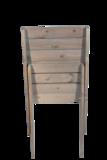 Granny Chair van geolied dennenhout ingeklapt