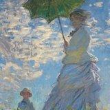Woman with Parasol van Claude Monet, duurzame Ecoshopper verkrijgbaar bij verkooppunt GreenPicnic