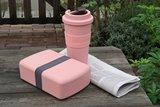 GreenPicnic met de Time-Out mugs en boxen van Zuperzozial (Lollipop Pink)