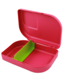 Lunchbox bio plastic Pink GreenPicnic