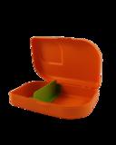 Lunchbox bio plastic Mandarin GreenPicnic