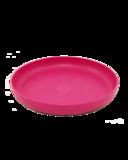 Ajaa teller pink, knalroze bord van duurzaam bioplastic verkrijgbaar bij GreenPicnic