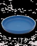 Ajaa teller blue, blauw bioplastic bordje voor op de camping of thuis, verkrijgbaar bij verkooppunt GreenPicnic