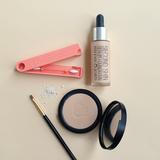 Beauty LastSwab verkrijgbaar bij verkooppunt Greenpicnic, herbruikbare peach wattenstaaf voor een duurzame zero-waste make-up t