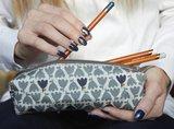 GreenPicnic - Earth Squared tulip pencil case fairtrade etui met tulpen patroon