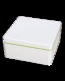 0,6L Lime Naturbox van Ajaa, gemaakt van duurzaam bioplastic