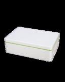 Duurzame Lime Naturbox 0,9L van Ajaa, verkrijgbaar bij verkooppunt GreenPicnic