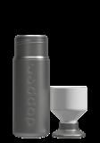 Dopper Solid Steel fles met afneembare beker