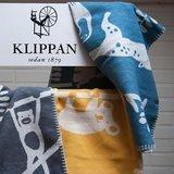 GreenPicnic verkoopt biologisch katoenen wiegdekens van Klippan - Siesta brushed cotton