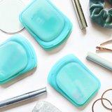 Pocket size Stasher Bags Aqua - GreenPicnic