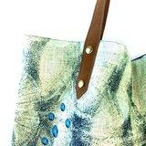 Imbarro Bay shopper met visprint - Greenpicnic
