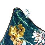 Detail Imbarro Florin kussentje met bloemen