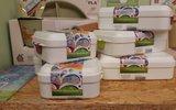 Biodora PLA lunchboxen van suikerriet Greenpicnic