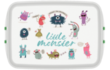 Grote PLA lunchbox monsters - PLA broodtrommel Greenpicnic