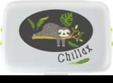Kinder lunch box Luiaard - PLA broodtrommel van Biodora