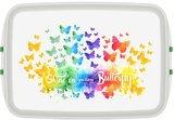 Biodora lunchbox Butterfly - PLA brooddoos van bioplastic, GreenPicnic
