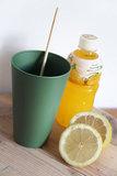 Donkergroene drinkbekers van natuurlijke materialen - Zuperzozial Reload Cup Rosemary Green