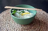 Donkergroene eetkom van natuurlijke materialen - Zuperzozial Boost Bowl Rosemary Green