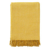 Klippan Java Yellow deken van ecowol en bamboe GreenPicnic