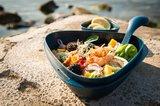 Milieuvriendelijke Meal Kit van Light My Fire in het blauw, van bio plastic uit natuurlijk materiaal
