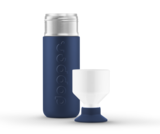De Dopper Original thermosfles met bekertje Breaker Blue