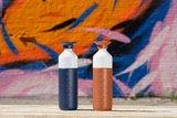 Breaker Blue en Terracotta Tide Dopper thermosfles bij Greenpicnic