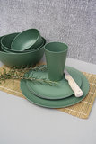Rosemary Green duurzaam servies van bioplastic - Zuperzozial verkooppunt GreenPicnic