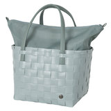 Handed By Color Deluxe shopper van gerecycled plastic - Greyish Green
