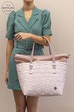 Duurzame shopper van Handed By - Color Deluxe Nude bij GreenPicnic