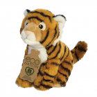 GreenPicnic Bengaalse tijger knuffelbeest duurzaam van gerecycled plastic - Eco Nation