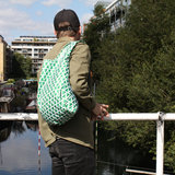 Groene boodschappentas van gerecycled PET - Kind Bag