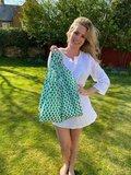 Duurzame Kind Bag Mint van gerecycled plastic bij GreenPicnic