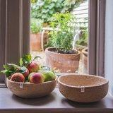 GreenPicnic, Seagrass bowl large natural van reSpiin