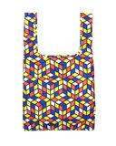 Kind Bag London Cube - Opvouwbare boodschappentas van gerecyclede plastic flessen